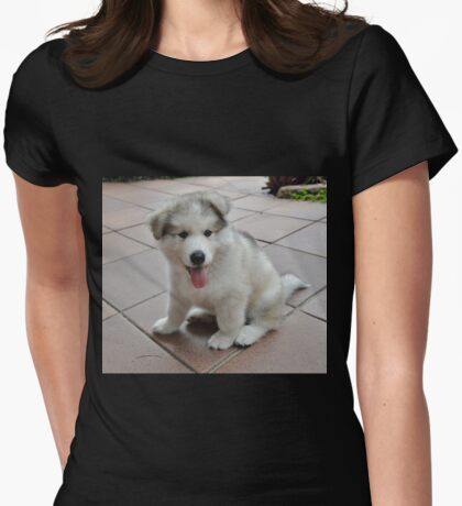 Alaskan Malamute - Baby Dr Bec Womens Fitted T-Shirt