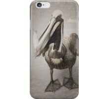 Pelican With His Catch iPhone Case/Skin
