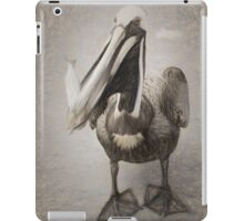 Pelican With His Catch iPad Case/Skin