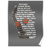 Why bother? Poster