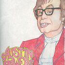 """Austin """"Danger"""" Powers by Dylan Mazziotti"""