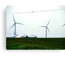 Farming the Wind 3 Canvas Print