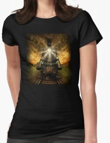 Night Train Womens Fitted T-Shirt