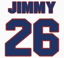 National baseball player Jimmy Bloodworth jersey 26 by imsport