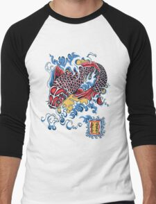 Koi t-shirt Men's Baseball ¾ T-Shirt