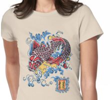 Koi t-shirt Womens Fitted T-Shirt