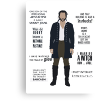 ICHABOD CRANE QUOTES Canvas Print