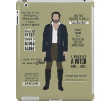 ICHABOD CRANE QUOTES iPad Case/Skin