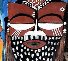 Ngady aMwaash Mask  by Ruth Palmer