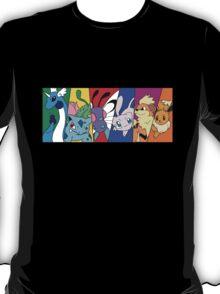 Pokemon team, first generation T-Shirt