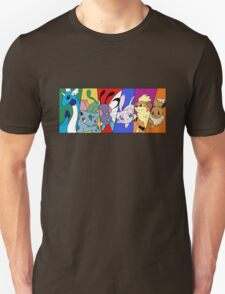 Pokemon team, first generation T-Shirt