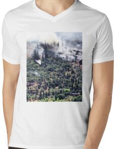 Columbia River Gorge Firefighters Mens V-Neck T-Shirt