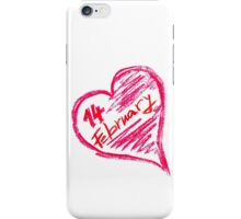 Happy Valentines Day iPhone Case/Skin