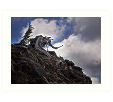 The Wizard - Crater Lake National Park Art Print