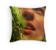 Sweet touch Throw Pillow