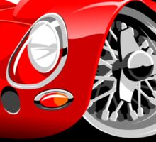 Ferrari 250 GTO caricature Sticker