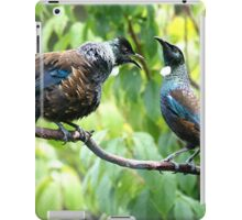 Tui - When I've been out with the boys I expect my meal to be ready when I get home......! iPad Case/Skin