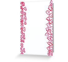 Happy Valentines Day frame image Greeting Card