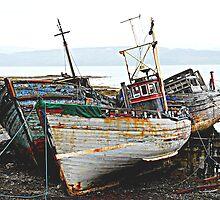 Three Wrecks by denisegladwell