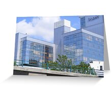 Skypark Office Building Greeting Card