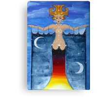 Keeper of the Stars (Justice) Canvas Print