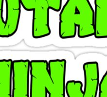 Teenage Mutant Ninja Turtles Words Sticker