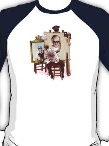 Triple Cornetto Portrait T-Shirt