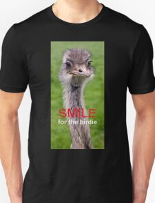 Smile... for the birdie Unisex T-Shirt