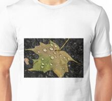 Leaf and Droplets Unisex T-Shirt
