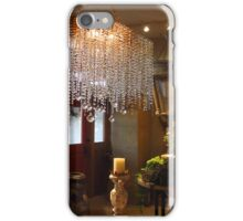 Another shot of chandelier at Bliss Home and Design iPhone Case/Skin