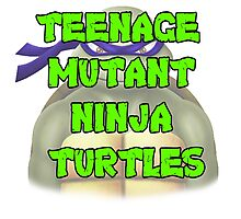Teenage Mutant Ninja Turtles Donatello Photographic Print