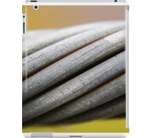 Steel Cable iPad Case/Skin