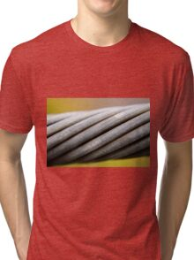 Steel Cable Tri-blend T-Shirt