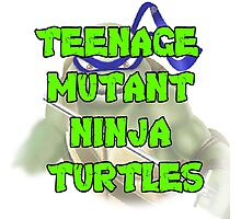 Teenage Mutant Ninja Turtles Leonardo Photographic Print