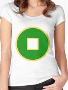 Earth Kingdom Emblem Women's Fitted Scoop T-Shirt