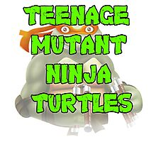 Teenage Mutant Ninja Turtles Michelangelo Photographic Print