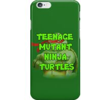 Teenage Mutant Ninja Turtles Raphael iPhone Case/Skin