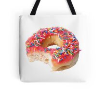 Strawberry Frosted Donut Tote Bag