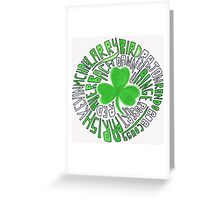 CELTICS Greeting Card