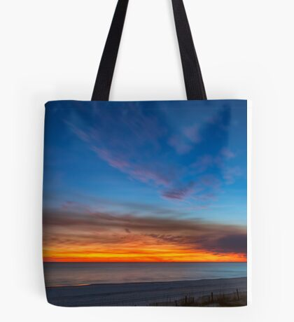 Sunset over the Gulf of Mexico Tote Bag