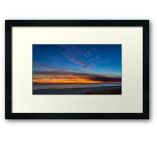 Sunset over the Gulf of Mexico Framed Print