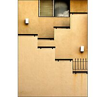 Building Wall Abstract Photographic Print