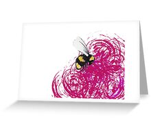 Bumbled Greeting Card