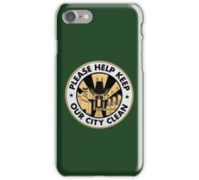 Hollywood Studios Trash Can iPhone Case/Skin