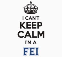I cant keep calm Im a FEI by icant