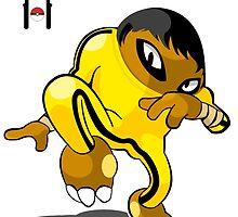 Hitmon-Bruce Lee by SKTCHY