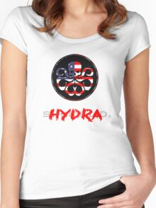 Hydra Takeover Women's Fitted Scoop T-Shirt
