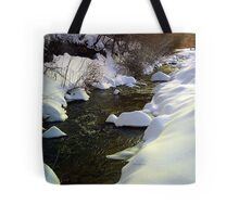 marshmallow creek Tote Bag