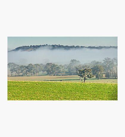 Foggy Layer Photographic Print