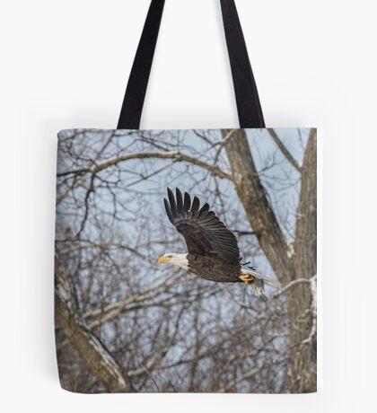 Adult American Bald Eagle  Tote Bag